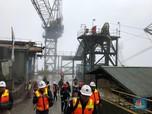 Smelter Freeport Baru Capai 3,86%, Kapan Rampung?