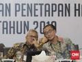 KPU Tetapkan Hasil Pemilu 2019 Pada 21 Mei Dini Hari