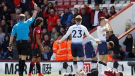 Dua Kartu Merah yang Menyulitkan Tottenham