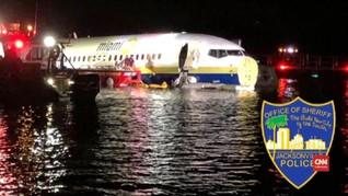 VIDEO: Boeing 737 Mendarat Darurat di Florida
