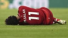 Viral Mohamed Salah Tidur di Lantai Pesawat