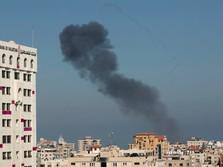 Alert! Jet Tempur Israel Bombardir Jalur Gaza Palestina Lagi