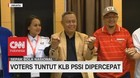 VIDEO: Voters Tuntut KLB PSSI Dipercepat