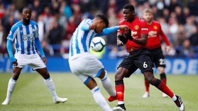 Lawan Huddersfield, Pogba Paling Banyak Kehilangan Bola
