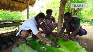 VIDEO: Mengunyah Katak dan Ulat Bambu di Flores Timur