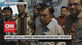 VIDEO: Wapres JK Beri Apresiasi Untuk Bandara Baru Yoyakarta