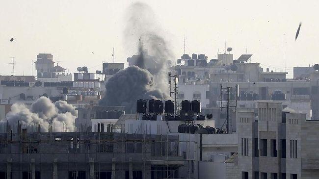 Israel Serang Suriah Balas Penembakan Gunung Hermon