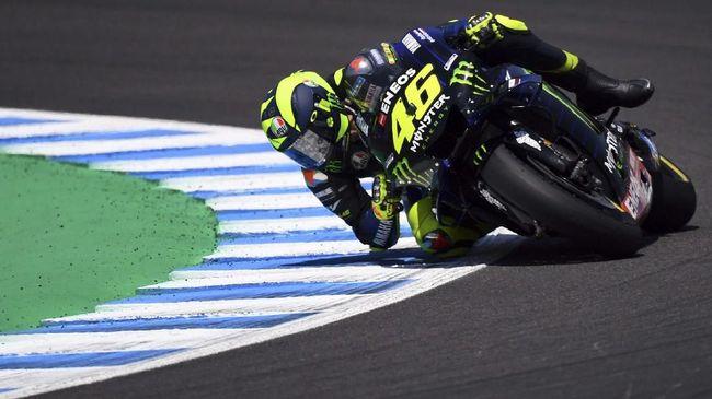 Penyesalan Valentino Rossi di MotoGP Spanyol