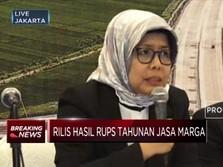 Jasa Marga Akan Tebar Dividen Rp 330,39 Miliar