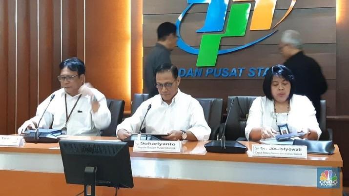 Pertumbuhan ekonomi Indonesia pada kuartal I-2019 dibacakan sebesar 5,07% secara year on year (YoY) oleh Badan Pusat Statistik (BPS) hari Senin (6/5/2019).