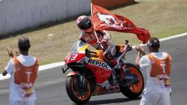 Lima Lap Penentu Marquez Juara di MotoGP Spanyol