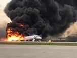 Pilot: Kilat Sebabkan Pesawat Sukhoi Terbakar saat Mendarat