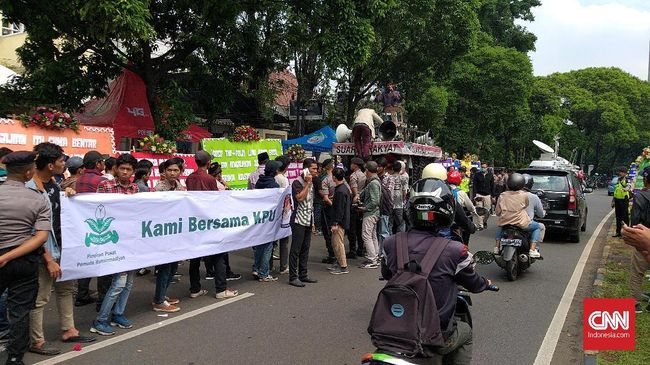 Pemuda Muhammadiyah Minta Jokowi dan Prabowo Kendalikan Massa