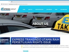 Express Transindo Utama Raih Persetujuan Rights Issue