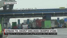 VIDEO: Gerbang Tol Cikarut Direlokasi Ke Cikampek Utama