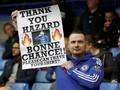 Diminta Suporter Bertahan di Chelsea: Hazard Geleng Kepala