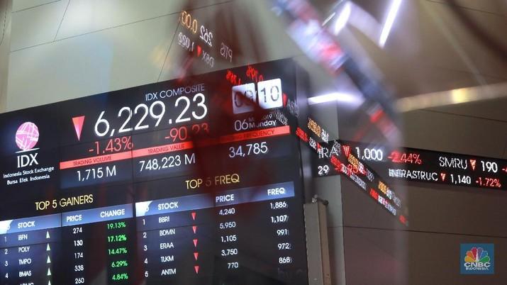 Sentimen dari AS berupa data ketenagakerjaan masih menjadi perhatian investor.