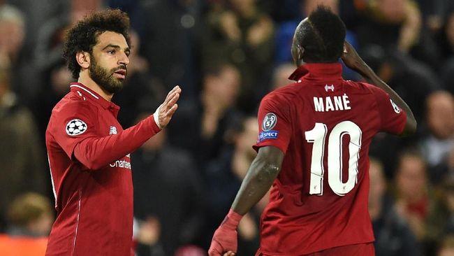Isi Cekcok Mane dan Salah di Ruang Ganti Liverpool