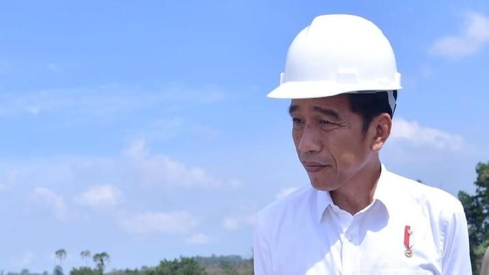 Presiden Joko Widodo (Jokowi) mengungkapkan keheranannya soal CAD.