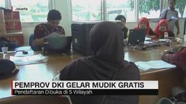 VIDEO: Pemprov DKI Jakarta Gelar Mudik Gratis