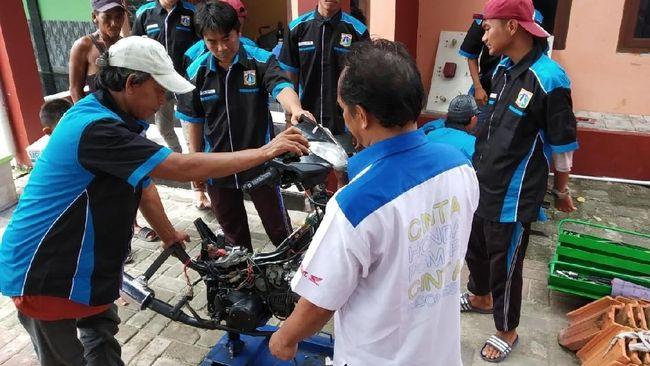 Bengkel Honda Berlayar ke Kepulauan Seribu