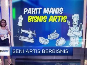 Mengintip Bisnis Rintisan Para Artis