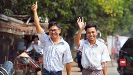 VIDEO: Pemerintah Myanmar Bebaskan Dua Jurnalis Reuters