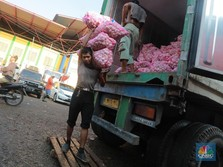 34 Kontainer Bawang Putih Impor China Masuk Priok