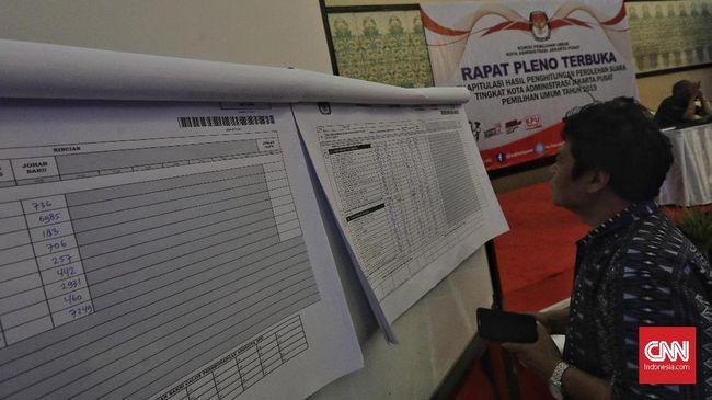 Hasil Pleno Pilpres di 26 Provinsi: Jokowi Unggul 59,7 Persen