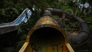 FOTO: Taman Air yang Terabaikan