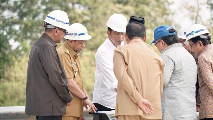 Presiden Joko Widodo (Jokowi) telah menuntaskan kunjungan kerja ke Kalimantan Timur (Kaltim), Selasa (7/5/2019).