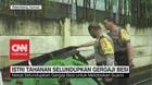 VIDEO: Istri Tahanan Selundupkan Gergaji Besi