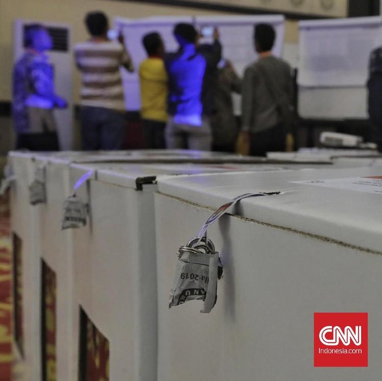 Enam Parpol Tolak Tandatangani Rekap Pileg di KPU Jakarta