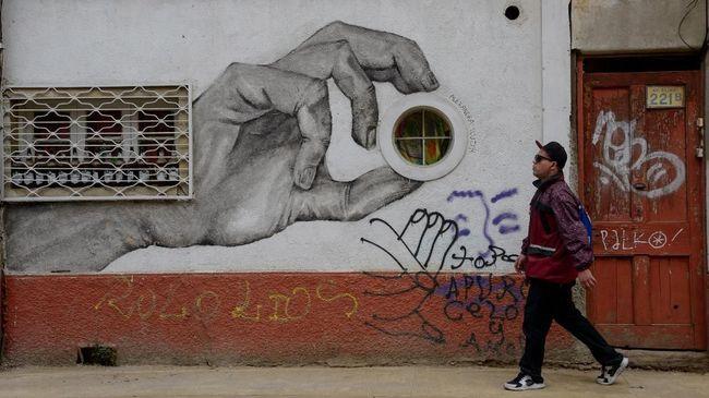 Valparaiso, Kota Seribu Grafiti di Chile