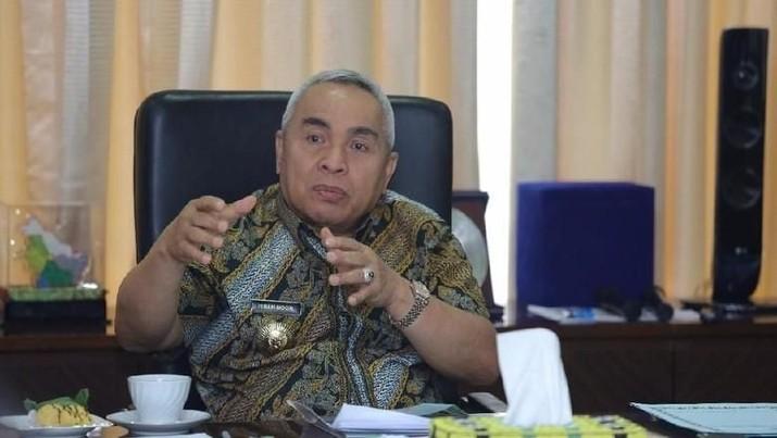 Gubernur Kalimantan Timur Isran Noor memberikan penjelasan di balik pengusulan Bukit Soeharto sebagai salah satu kandidat pusat pemerintahan ke depan.