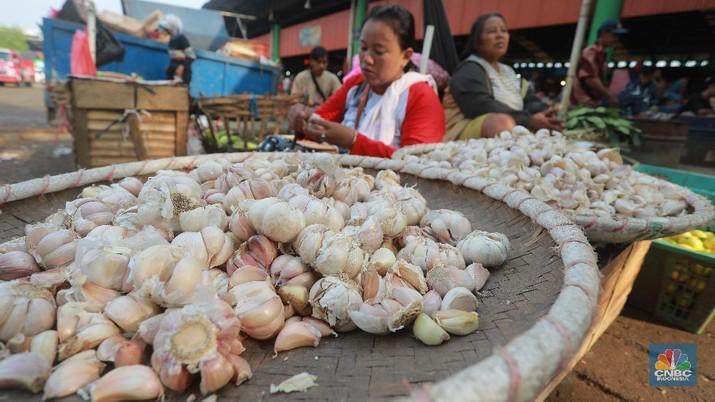 Ada 15 perusahaan yang sudah mengantongi izin untuk impor bawang putih.