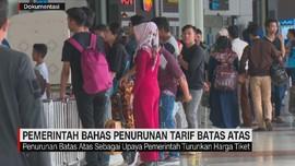 VIDEO: Harga Batas Atas Turun, Tiket Pesawat Diprediksi Turun