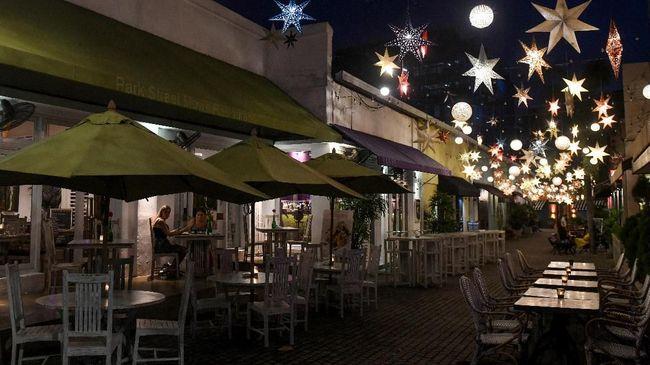 Kehidupan Malam di Kolombo Lesu Setelah Pengeboman