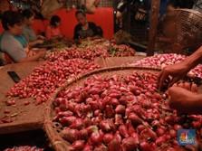 Harga Bawang Merah Sampai Beras Turun, RI Pun Deflasi