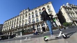 Banyak Kecelakaan, Prancis Larang Skuter Listrik di Trotoar