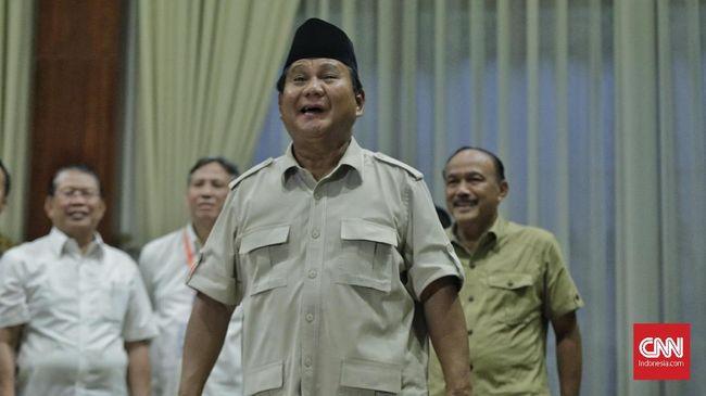 Surat Wasiat Prabowo Singgung soal 'Kematian'