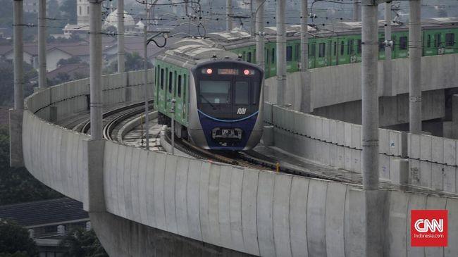 MRT Jakarta Raup Pendapatan Rp50,4 Miliar