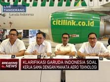 Garuda Indonesia Jawab Polemik Pencatatan Piutang Mahata