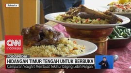 VIDEO: Menyantap Hidangan Timur Tengah Untuk Berbuka