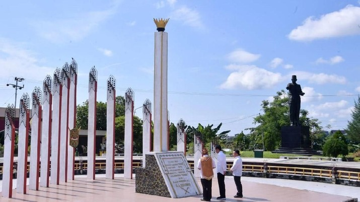 Jokowi Tinjau Lokasi Kedua Calon Ibu Kota RI
