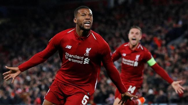 Gol Wijnaldum dan Sinyal Liverpool Juara Liga Champions
