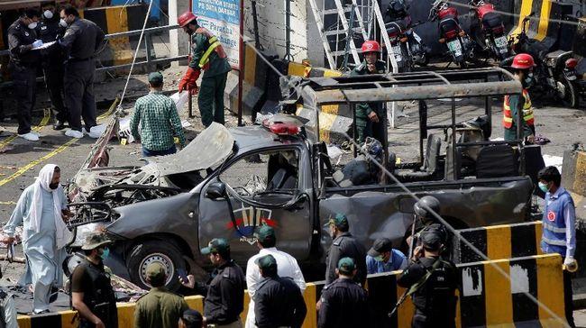 Ledakan di Kuil Sufi Pakistan, Tiga Orang Tewas