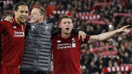 Tangis Milner dan Amarah Wijnaldum di Anfield