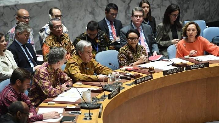 Delegasi AS sampai Sekjen PBB Kompak Pakai Batik, Ada Apa?