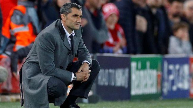 Barcelona Tetap Dilatih Valverde di Musim Depan